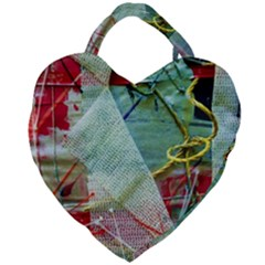 Hidden  Strings Of Purity 2 Giant Heart Shaped Tote