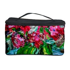 Paint, Flowers And Book Cosmetic Storage Case
