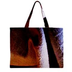Colors And Fabrics 28 Zipper Medium Tote Bag