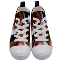 Colors And Fabrics 28 Kid s Mid Top Canvas Sneakers