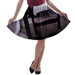Colors And Fabrics 27 A Line Skater Skirt