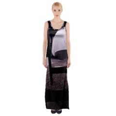 Colors And Fabrics 27 Maxi Thigh Split Dress
