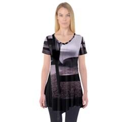 Colors And Fabrics 27 Short Sleeve Tunic