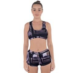 Colors And Fabrics 27 Racerback Boyleg Bikini Set