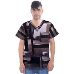 Colors And Fabrics 27 Men s V-Neck Scrub Top