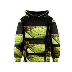 Colors And Fabrics 25 Kids  Pullover Hoodie