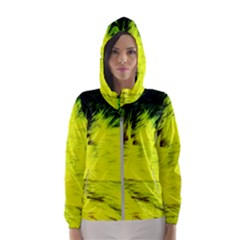 Colors And Fabrics 23 Hooded Wind Breaker (women)