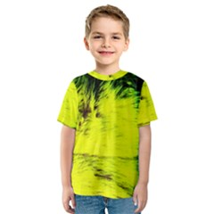 Colors And Fabrics 23 Kids  Sport Mesh Tee