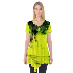 Colors And Fabrics 23 Short Sleeve Tunic