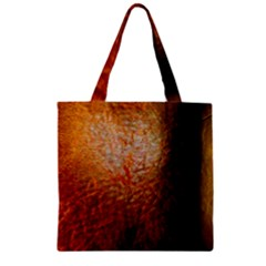 Colors And Fabrics 21 Zipper Grocery Tote Bag
