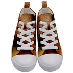 Colors And Fabrics 21 Kid s Mid Top Canvas Sneakers