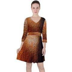 Colors And Fabrics 21 Ruffle Dress