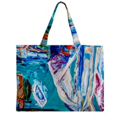 Marine On Balboa Island Medium Tote Bag