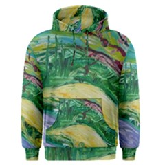 Yellow Boat And Coral Tree Men s Pullover Hoodie
