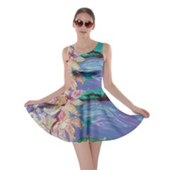 Magnolia By The River Bank Skater Dress