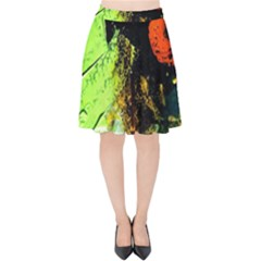 I Wonder Velvet High Waist Skirt by bestdesignintheworld