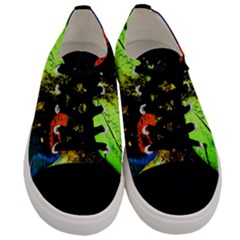I Wonder Men s Low Top Canvas Sneakers