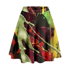 Enigma 1 High Waist Skirt by bestdesignintheworld