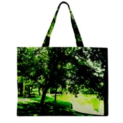 Lake Park 17 Zipper Mini Tote Bag