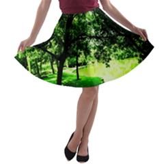 Lake Park 17 A Line Skater Skirt