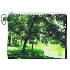 Lake Park 17 Canvas Cosmetic Bag (xxl)