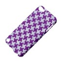 HOUNDSTOOTH2 WHITE MARBLE & PURPLE DENIM Apple iPod Touch 5 Hardshell Case View4