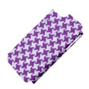 HOUNDSTOOTH2 WHITE MARBLE & PURPLE DENIM Apple iPhone 5 Hardshell Case (PC+Silicone) View4