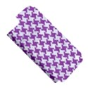 HOUNDSTOOTH2 WHITE MARBLE & PURPLE DENIM Apple iPhone 5 Hardshell Case (PC+Silicone) View5