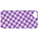 HOUNDSTOOTH2 WHITE MARBLE & PURPLE DENIM Apple iPhone 5 Classic Hardshell Case View1