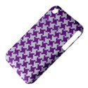 HOUNDSTOOTH2 WHITE MARBLE & PURPLE DENIM iPhone 3S/3GS View4