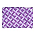 HOUNDSTOOTH2 WHITE MARBLE & PURPLE DENIM Apple iPad Mini Hardshell Case (Compatible with Smart Cover) View1