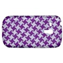 HOUNDSTOOTH2 WHITE MARBLE & PURPLE DENIM Galaxy S3 Mini View1