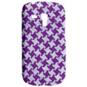 HOUNDSTOOTH2 WHITE MARBLE & PURPLE DENIM Galaxy S3 Mini View2