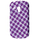 HOUNDSTOOTH2 WHITE MARBLE & PURPLE DENIM Galaxy S3 Mini View3