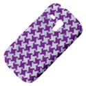 HOUNDSTOOTH2 WHITE MARBLE & PURPLE DENIM Galaxy S3 Mini View4