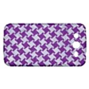 HOUNDSTOOTH2 WHITE MARBLE & PURPLE DENIM Samsung Galaxy Mega 5.8 I9152 Hardshell Case  View1