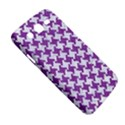 HOUNDSTOOTH2 WHITE MARBLE & PURPLE DENIM Samsung Galaxy Mega 5.8 I9152 Hardshell Case  View5
