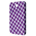 HOUNDSTOOTH2 WHITE MARBLE & PURPLE DENIM Samsung Galaxy Tab 3 (7 ) P3200 Hardshell Case  View3