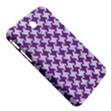 HOUNDSTOOTH2 WHITE MARBLE & PURPLE DENIM Samsung Galaxy Tab 3 (7 ) P3200 Hardshell Case  View5