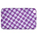 HOUNDSTOOTH2 WHITE MARBLE & PURPLE DENIM Samsung Galaxy Tab 3 (8 ) T3100 Hardshell Case  View1