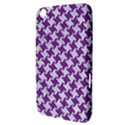 HOUNDSTOOTH2 WHITE MARBLE & PURPLE DENIM Samsung Galaxy Tab 3 (8 ) T3100 Hardshell Case  View3