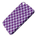 HOUNDSTOOTH2 WHITE MARBLE & PURPLE DENIM Samsung Galaxy Tab 3 (8 ) T3100 Hardshell Case  View4