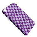 HOUNDSTOOTH2 WHITE MARBLE & PURPLE DENIM Samsung Galaxy Tab 3 (8 ) T3100 Hardshell Case  View5