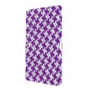 HOUNDSTOOTH2 WHITE MARBLE & PURPLE DENIM Samsung Galaxy Tab 2 (10.1 ) P5100 Hardshell Case  View3