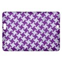 HOUNDSTOOTH2 WHITE MARBLE & PURPLE DENIM Amazon Kindle Fire HD (2013) Hardshell Case View1