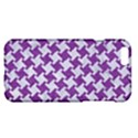 HOUNDSTOOTH2 WHITE MARBLE & PURPLE DENIM Apple iPhone 6 Plus/6S Plus Hardshell Case View1