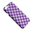 HOUNDSTOOTH2 WHITE MARBLE & PURPLE DENIM Apple iPhone 6 Plus/6S Plus Hardshell Case View5