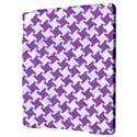 HOUNDSTOOTH2 WHITE MARBLE & PURPLE DENIM Apple iPad Pro 9.7   Hardshell Case View3