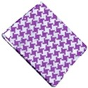 HOUNDSTOOTH2 WHITE MARBLE & PURPLE DENIM Apple iPad Pro 9.7   Hardshell Case View4