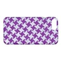 HOUNDSTOOTH2 WHITE MARBLE & PURPLE DENIM Apple iPhone 7 Plus Hardshell Case View1